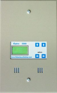 Model 5000 Controller for gas monitoring system